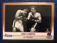 """1991 KAYO Boxing #201  Jake LaMotta """"All Time Great""""  MINT!"""