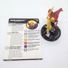 Heroclix Avengers Infinity set Adam Warlock #038 Super Rare figure w/card!