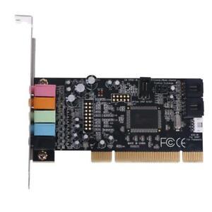 Classic PCI Sound Card 5.1CH CMI8738 Chipset Audios Digital Desktop Pci Express