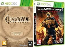 Deadfall Adventures Collectors Edition & GEARS OF WAR JUDGMENT    PAL NEW&SEALED