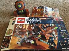 LEGO Star Wars 9491 - Geonosian Cannon - Cannon, Box & Instructions Only