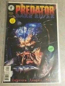 Predator Dark River #1 Signed By Rick Magyar #37/50 Copies **Dark Horse Comics**
