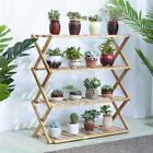 Multiple Flower Pot Holder Rack Stand Plant Shelf fr Patio Garden Corner Balcony