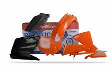 Polisport KTM Plástico Kit Sx 01-02 SX 125 525 01 - 03 Exc 03 OEM Naranja 90100