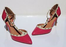 44a516141024 Halogen  Martine Pink Studded T-Strap Pump Shoes ...