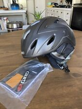 Giro OMEN Matte Black Ski Snowboard Helmet Medium 55.5-59cm New