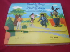 Healthy Steps for Healthy Lives A Hands-on Program Nutrition game VHS DVD Nestle