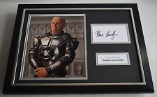 Robert Llewellyn SIGNED FRAMED Photo Autograph 16x12 display Red Dwarf TV COA