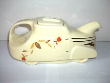JEWEL TEA AUTUMN LEAF AUTOMOBILE CAR TEAPOT HALL CHINA 60TH ANNIVERSARY