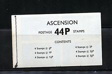 Ascension #143a (AS419) Comp Decimal Currency Booklet, MNH, VF, CV$30.00