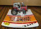Ertl 1/64 Massey Ferguson MF 699 Tractor w/ DUALS 1980s Toy 1129 Die Cast Metal