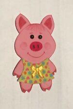 """Insigne tissus à coudre """"Petit Cochon artisanat Russe Zino"""" ou marque page"""