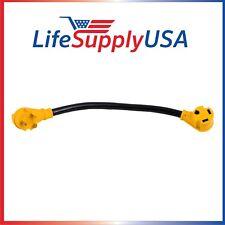 25 FEET RV Cord w/ Grip Handle 30 Amp 10-Gauge 10 AWG3 10/3 125V STW TT30P/TT30R