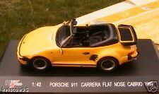 PORSCHE 911 CARRERA FLAT NOSE CABRIO 1989 TURBO 1/43