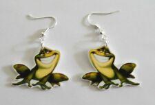 Princess and the Frog Prince Naveen as frog Earrings