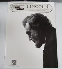 lincoln sound track book hal leonard music book Lincoln ez play book ezplay book