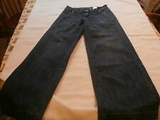 Farlow wide leg women's jeans size 1 boot cut flare nice designer wear