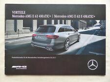 Mercedes-Benz Vorteile AMG E 63 T-Modell S213 - Prospekt Brochure 05.2017