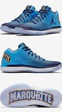Nike Air Jordan 31 XXXI Low Marquette Golden Eagles PE Size 13. 897564-406 1 2 3