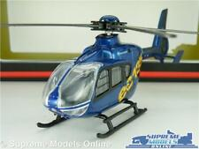 EUROCOPTER EC135 MODEL HELICOPTER AIRPLANE AIRCRAFT 1:50 BLUE CORGI TY93215 K8