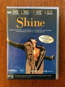 Shine DVD Region 4 LIKE NEW