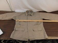 Adult Unisex Tru-Spec Tan Polyester Cotton Button Up Front Military Blouse 32994