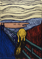 Andy Warhol (after) - The Scream - Siebdruck auf Papier - Sunday. B. Morning