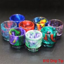 1Pc 810 Drip Tip Epoxy TFV8 TFV12 Resin Mouthpiece Cap For Clouds Beast Big Baby