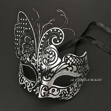 Beautiful Butterfly Laser Cut Metal Venetian Masquerade Costume Prom Mask