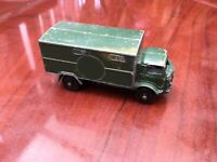 VINTAGE LESNEY SERVICE AMBULANCE 4 X 4 FORD 3 TON ARMY VEHICLE RARE