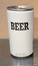 1990s Bottom Open Generic Extruded Pull Tab Beer Can Falstaff Brewing 4 City