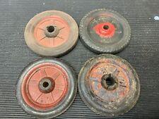 Vintage Buddy L Original Tires with Wheels (4)