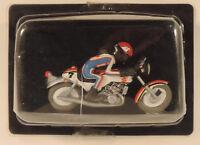 "Moto Joe Bar Team 112 Suzuki GT 750 Roca ""Heron"" de 1973 1/18 figurine Hachette"