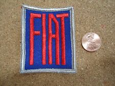 Vintage Fiat Patch New Old Stock