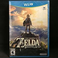 The Legend of Zelda : Breath of the Wild (Nintendo Wii U, 2017) BRAND NEW