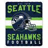 """New NFL Helmet Logo Soft Fleece Throw Blanket 50"""" X 60"""" All 32 Teams Available"""
