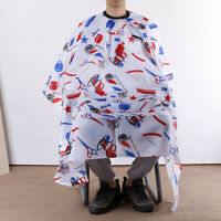 Salon Haircut Hairdressing Cape Waterproof Barber Hair Gown Wrap Cloth Apron HU