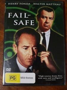 FAIL SAFE - DVD R4, Henry Fonda Walter Matthau, Like New. (Not ex rental)