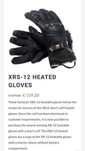Gerbing 12V XR-12 Hybrid Gloves - Black - 2XL Good Condition, Fully Working