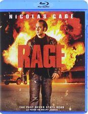 Rage (Blu-ray) Nicolas Cage, Rachel Nichols, Danny Glover NEW