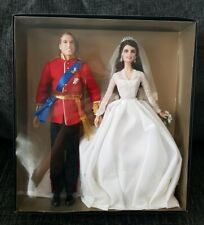 Barbie William And Kate Catherine Royal Wedding Gold Label Collection Collectors