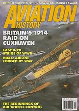 Aviation History (January 1997) (1914 Cuxhaven Raid, B-29, Early ATC, He-162)