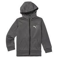 PUMA Pre- School Boy's Slant Fleece Zip Up Hoodie