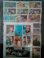 Space Raumfahrt Weltraum Raumfahrt Briefmarken Lot Sellos Timbres Stamps