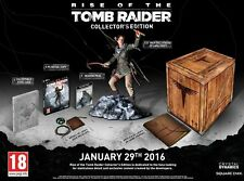 PC Spiel Rise of the Tomb Raider Collector's Edition inkl. Statue etc. NEUWARE