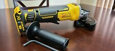 DEWALT XR DCG413B 20V MAX Brushless 4.5 Small Angle Cordless Grinder -Tool Only