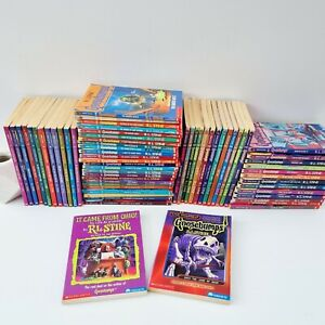 Goosebumps Original 90s Complete Collection Book Set 1-62 & It came from Ohio!