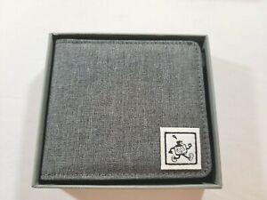 Sketch Wallet Medium Gray Canvas