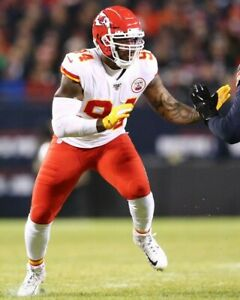 TERRELL SUGGS 8X10 PHOTO KANSAS CITY CHIEFS KC PICTURE NFL FOOTBALL