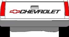 CHEVROLET SS Tailgate Truck Lettering 350 400 454 1500 Sticker Vinyl Decal Black